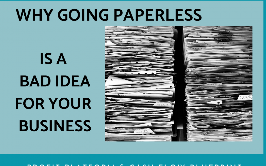 Going Paperless May Be a Bad Idea
