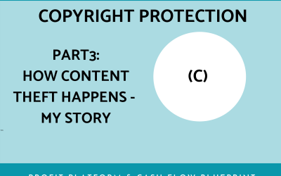 Copyright and IP Pt 3 – Content Theft – A True Story